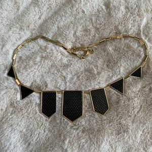 House of Harlow Station Perforated Necklace